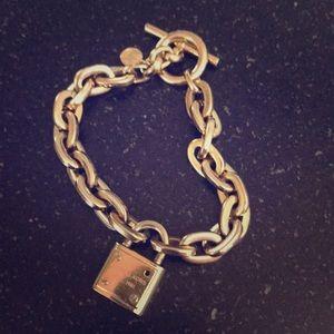 Michael Kors Gold charm bracelet